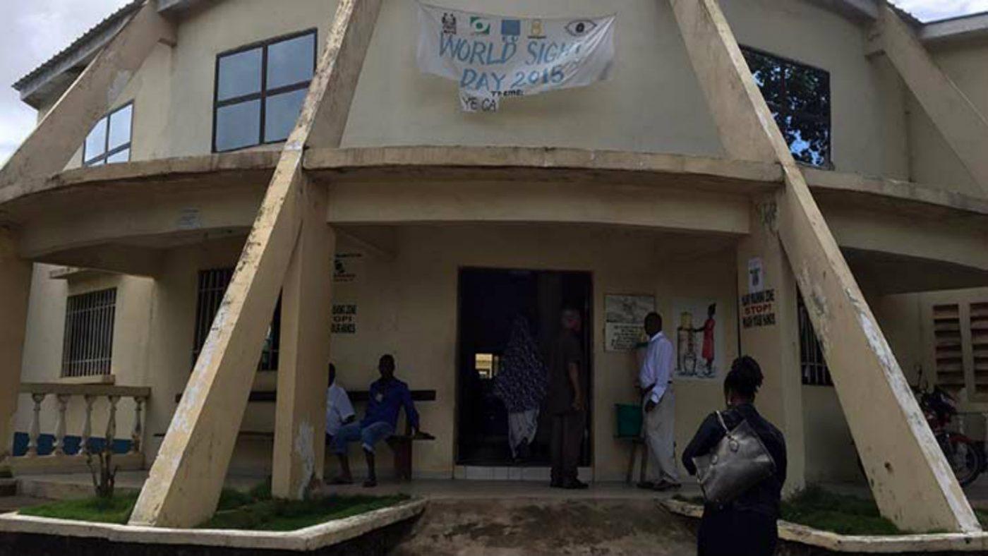 Kenema sykehus, Sierra Leone.