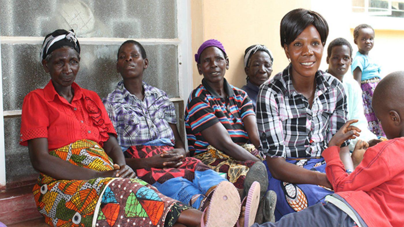 Treffer trikiasispasienter i landsbyen Mwase.