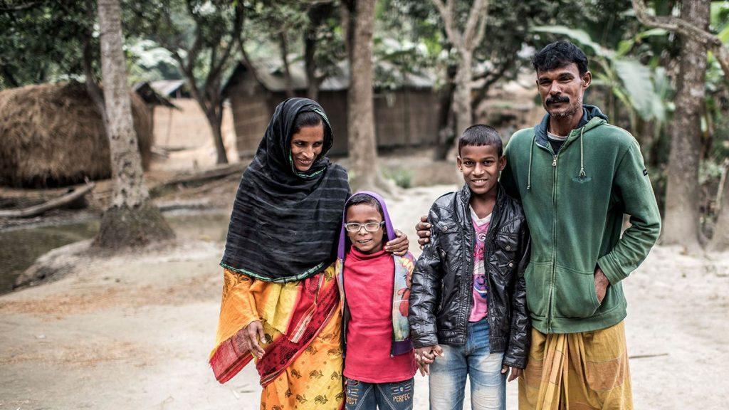 Bangladesh familie.