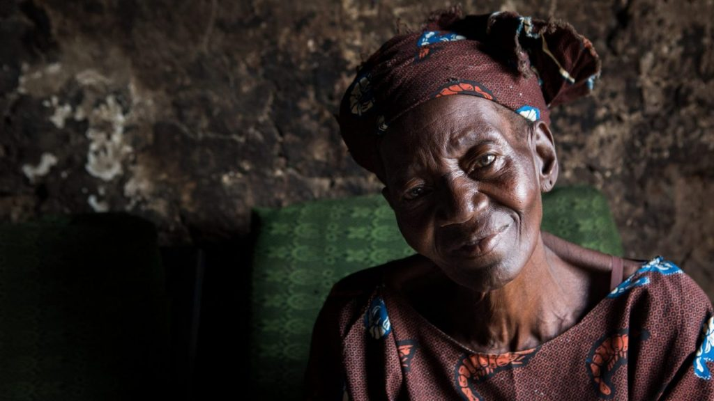 Christiana Solomon har lymfatisk filariasis. Hun bor i Lokoja i Nigeria sammen med familien sin.