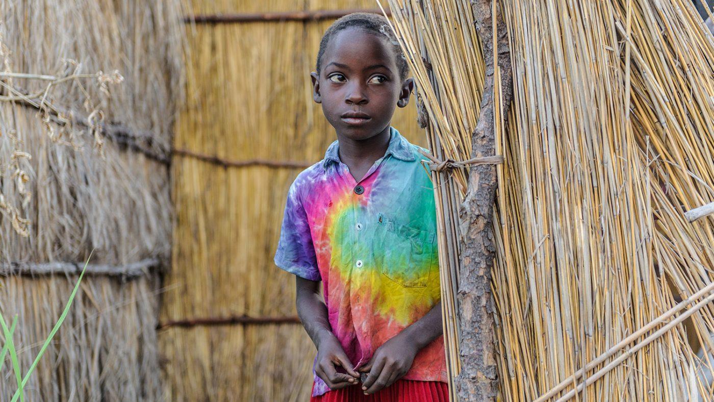 Namukolo i landsbyen.