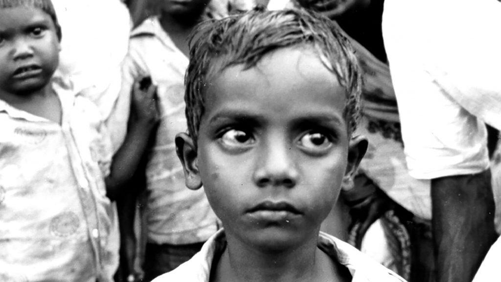 En ung gutt i India på 1940-tallet.