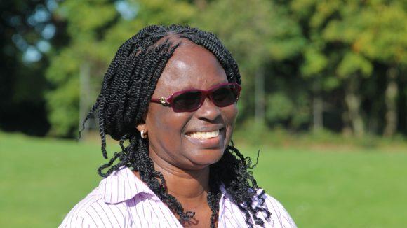 Gertrude Oforiwa Fefoame smiler.