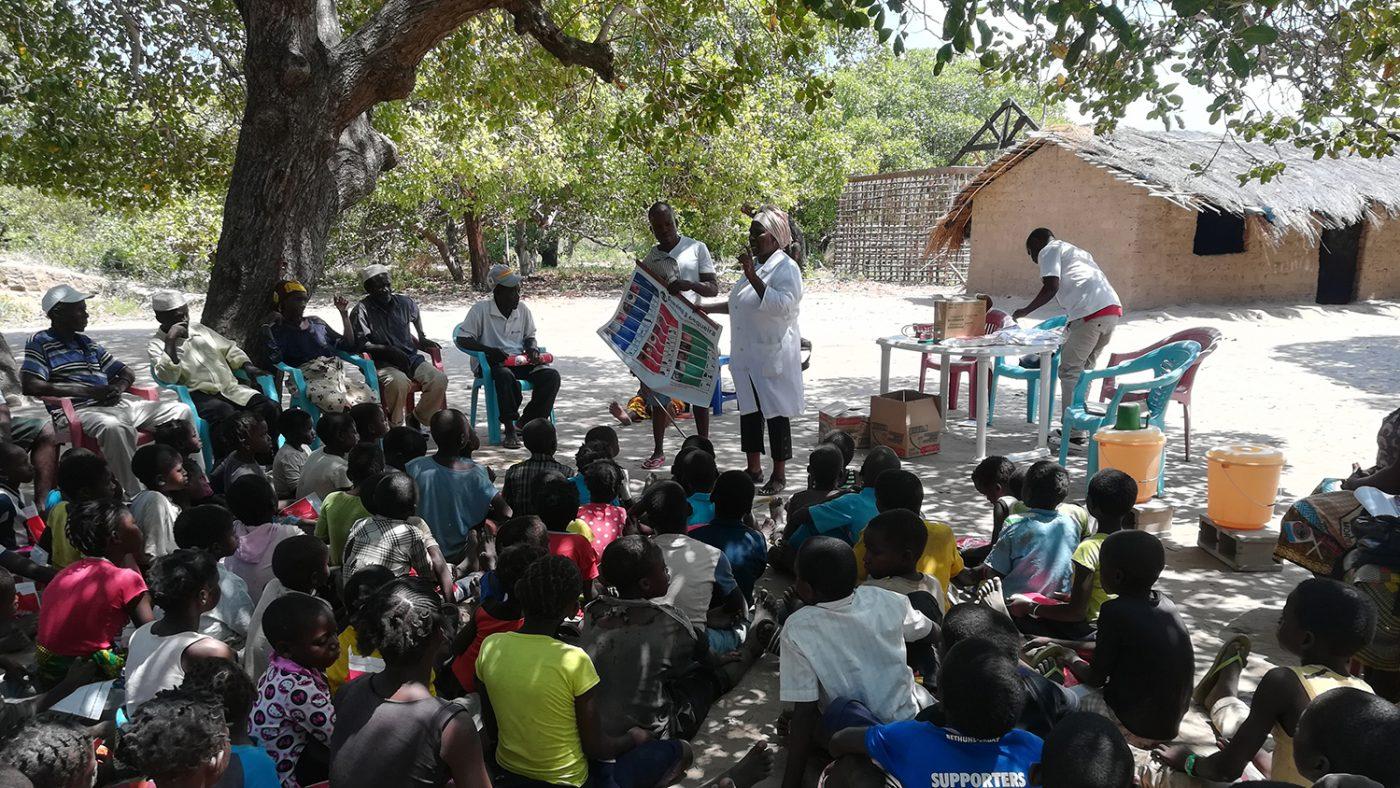 Helse-brigaden fortalte skolebarn om de beste metodene for å vaske hender og ansikt.