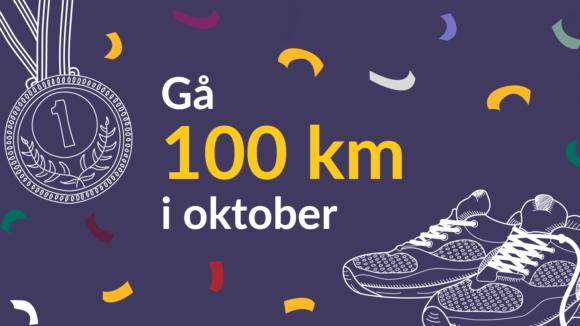 gå 100 km for sightsavers